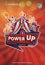 pomoce naukowe: Power Up Level 3 Flashcards (Pack of 175) – zabawka